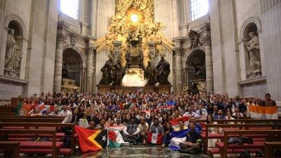 PASTORAL JUVENIL PARTICIPA EN XI FORO INTERNACIONAL DE JÓVENES EN ROMA.