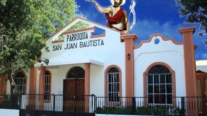 CONCLUYEN FIESTA RELIGIOSAS  EN VICENTE NOBLE