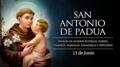 FIESTA DE SAN ANTONIO DE PADUA.