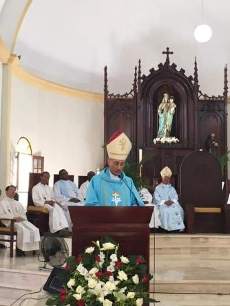 El nuncio Apostólico en el País llama a valorar el Padrenuestro