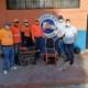 Donan equipo de desinfección a la Defensa Civil, en Barahona.