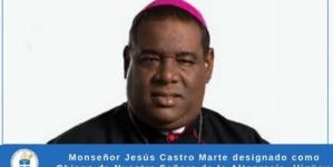Monseñor Jesús Castro Marte  da positivo a Covid-19