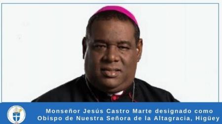 TOMA DE POSESIÓN CANÓNICA DE MONSEÑOR JESÚS CASTRO MARTE.