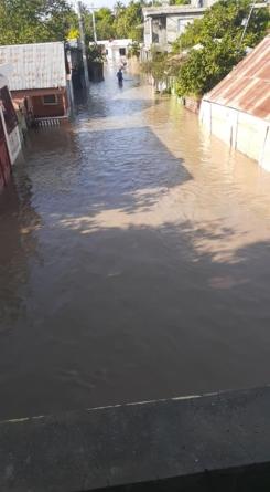 Permanecen inundadas desde esta madrugada las comunidades del Jobo y Uvilla del municipio de Tamayo.
