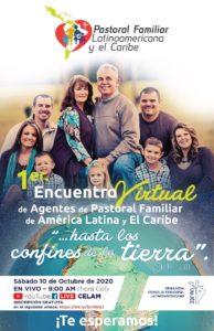 Octubre 10: Encuentro Virtual de Agentes de Pastoral Familiar de América Latina y el Caribe.