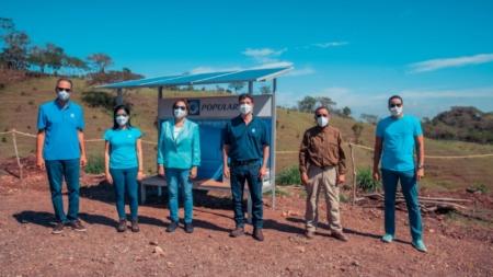 Empleados de Banco Popular siembran 22,400 árboles en Plan Sierra.