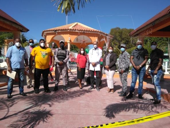 La mesa de «Seguridad, Ciudadanía y Genero»   llaman a los moradores a que acojan las normas dispuesta por las autoridades sanitaria y el gobierno a fin de evitar el  Covid-19.