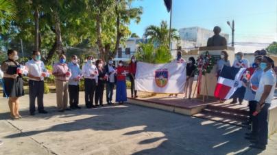 UCATEBA celebra acto en honor a la Independencia Nacional.
