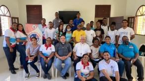 CNPJ visita pastoral juvenil de la Diócesis de Barahona.