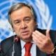 António Guterres ante la 76 Asamblea General